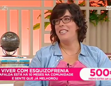 How it is to Live with Schizophrenia – Dear Mornings (SIC – Portuguese tv channel)