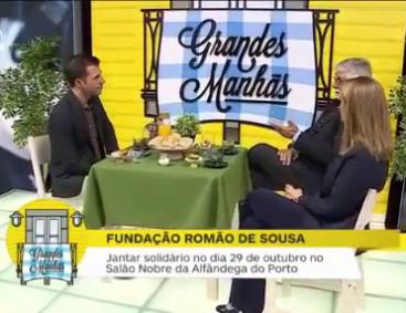 Fundação Romão de Sousa nas Grandes Manhãs do Porto Canal