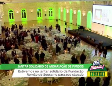 La cena solidaria de la Fundación Romão de Sousa 2018