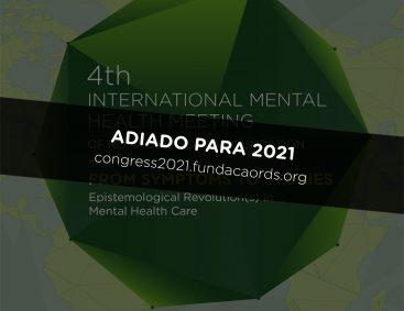 4º Encontro Internacional em Saúde Mental adiado