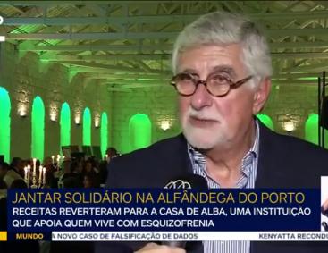 Jantar solidário 2017 na Alfândega do Porto