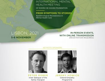 Peter Rober e Jeremy Howick no 4th International Mental Health Meeting